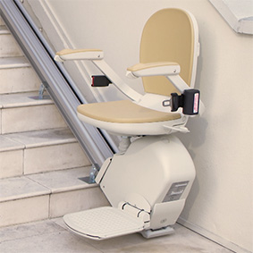 outdoor outside exterior residential home stairlifts houston tx chairlift