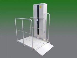 Riverside wheelchair elevator vpl vertical platform lift